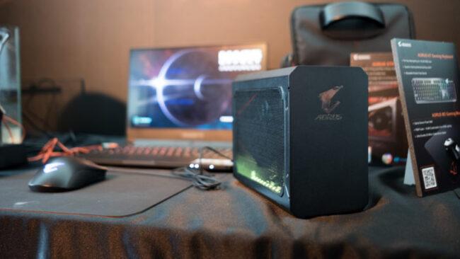 Док-станции и внешние видеокарты для ноутбуков