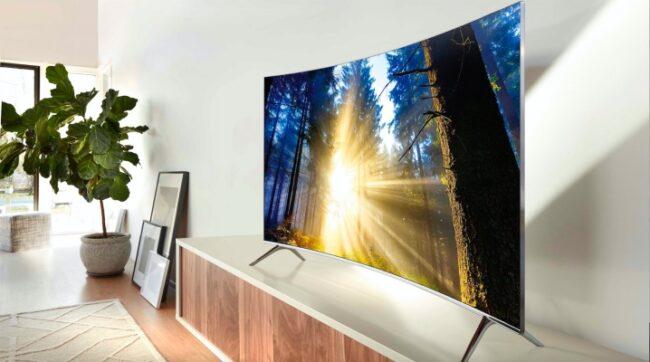 Изогнутые телевизоры в 2021