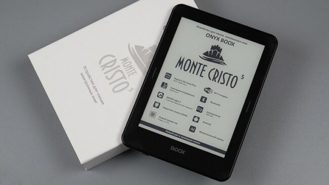 Обзор электронной книги ONYX BOOX Monte Cristo 5