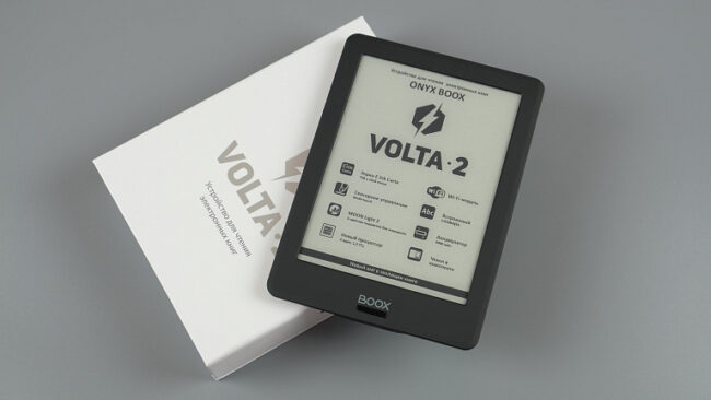 Обзор электронной книги ONYX BOOX Volta 2