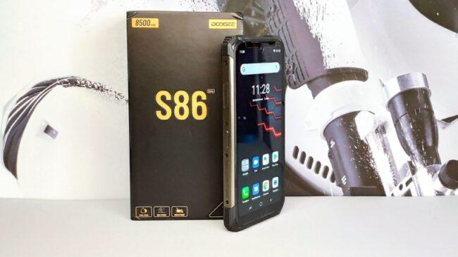 Обзор смартфона DOOGEE S86 – Защищён со всех сторон